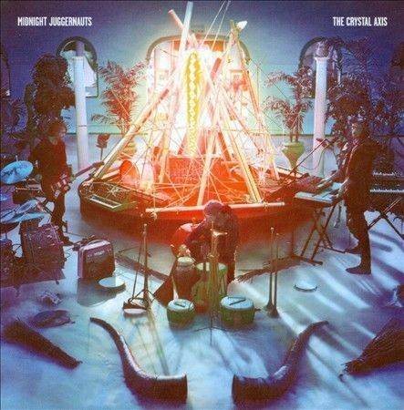 1 of 1 - The Crystal Axis by Midnight Juggernauts (CD, Dec-2010, Siberia)