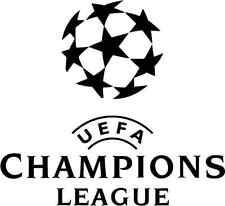 "Champions League UEFA Logo Soccer Football Car Bumper Sticker Decal 5"" x 5"""