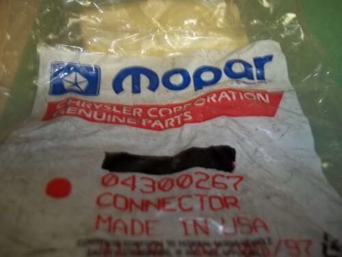 +New OEM Mopar 04300267 Connector