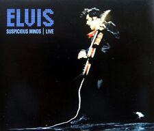 ELVIS PRESLEY - SUSPICIOUS MINDS LIVE CD SINGLE