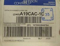 Johnson Controls A19cac 1c 60-90°f Change Over Thermostat