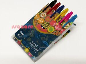 6-Colours-set-x-Pentel-SES15C-Fude-Touch-Water-based-Brush-Tip-Sign-Pen