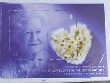 Guernsey 2002 MS971.  Queen Mother Minisheet. MNH