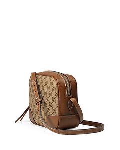 64bc1b937921 NEW GUCCI Bree Original GG Canvas Disco Bag Shoulder Bag Crossbody ...