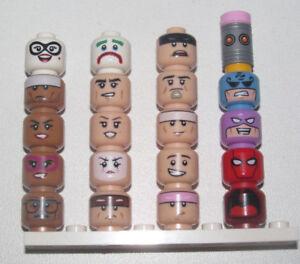 Lego-Minifig-Tete-Visage-Head-Series-Batman-Movie-Choose-71017-Model-NEW