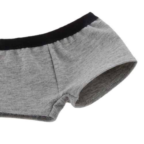 1//3 Scale Grey Underwear Boxers Panties FITS BJD DOLLFIE SD DOD Clothes