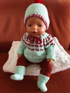 Puppen Der Gr 41-44 Cm-süsse Handgefertigte Kleidung Unikate Professionelles Design Baby Born 43 Cm U