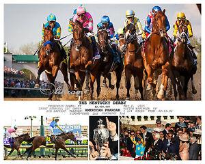 AMERICAN-PHAROAH-2015-KENTUCKY-DERBY-TRIPLE-CROWN-WINNER-11-x-14-PHOTO