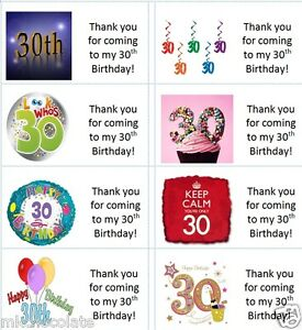 30 Custom Little Cake Maker Thank You Personalized Address Labels