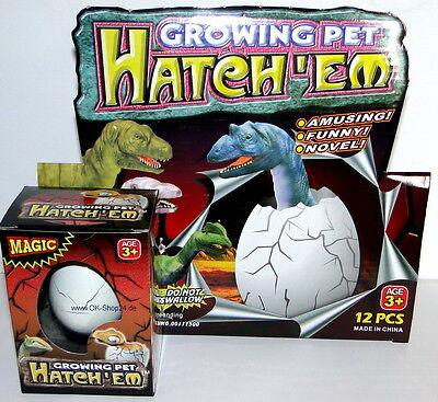 Animals & Dinosaurs Dinosaurier Dinoeier Dino Ei Schlüpf Dino Magic Egg Neu Rapid Heat Dissipation Toys & Hobbies