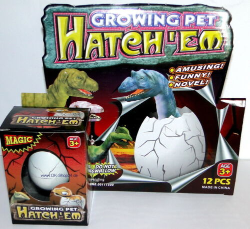 Dinosauro dinoeier Dino uovo schlüpf Dino Magic Egg Nuovo