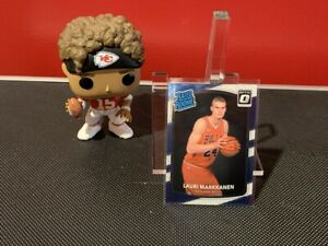 2017-18 Panini Donruss Optic Lauri Markkanen Rated Rookie #159 Chicago Bulls!!