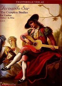 Sor Complète Des études Pour Guitare-afficher Le Titre D'origine