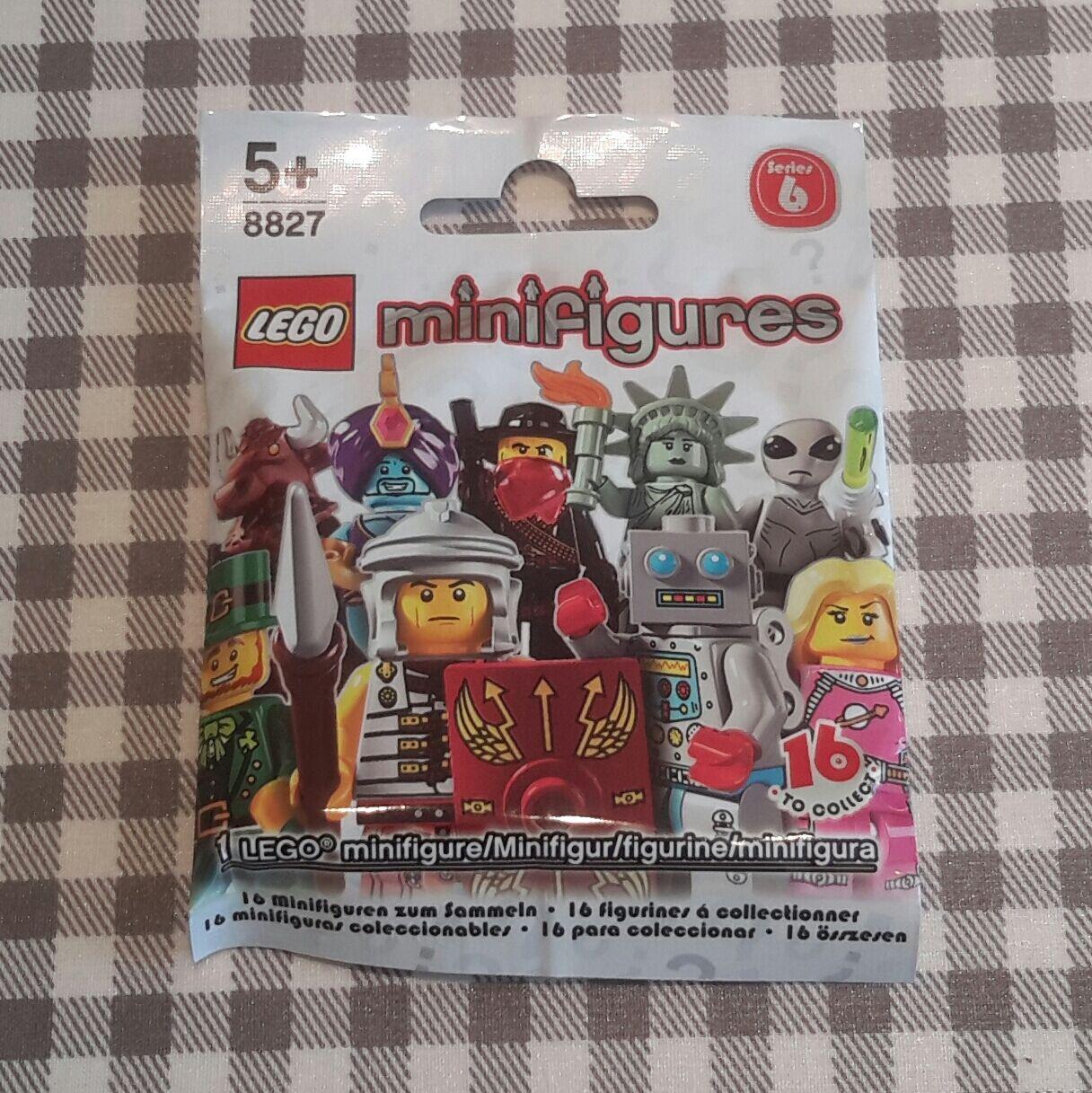 Lego minifigures series 6 (8827) série 16 complète de 16 série new factory sealed dcb497