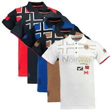 Polo GEOGRAPHICAL NORWAY Karadok Uomo Men T-shirt manica corta Cotone