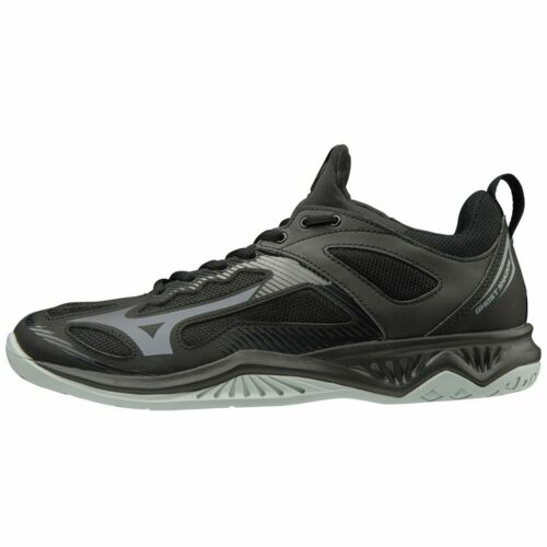 Details about  /Mizuno Ghost Shadow Mens Handball Indoor Sports Shoes Trainers Black Grey