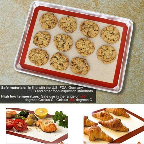 Silicone Baking Mat Fibreglass Non-Stick Reusable Oven Sheet Liner for Baking CO