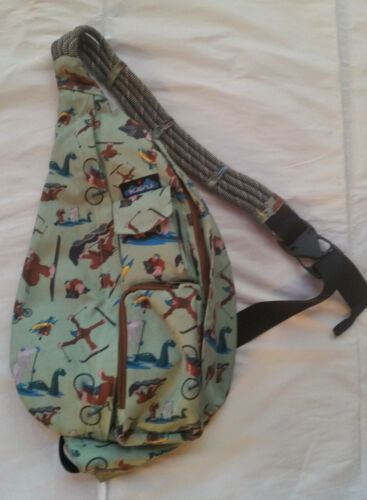 Kavu Rope Sling Bag Sasquatch Bigfoot REI Special