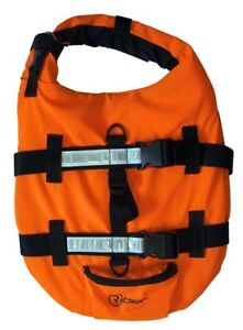 Swimming /& Boating M L by Riber Sizes S Dog Pet Buoyancy Aid Life Jacket