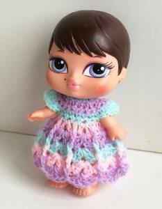 Clothes-for-4-5-034-Bratz-Babies-Outfit-Dress-Handmade-USA-Lot-BB-10-Lilac-Pink