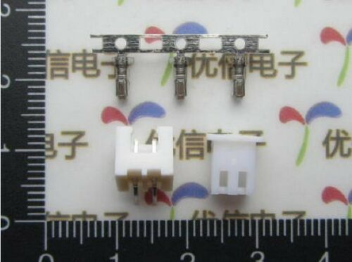 DZ220 10PCS Curved 2 pins Connector leads Head XH2.54 2.54mm connector kit DIP *