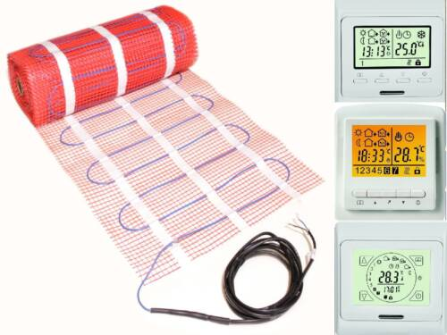 Électrique hypocauste qm 1 2 3 4 5 6 7 8 9 10 m² avec certification