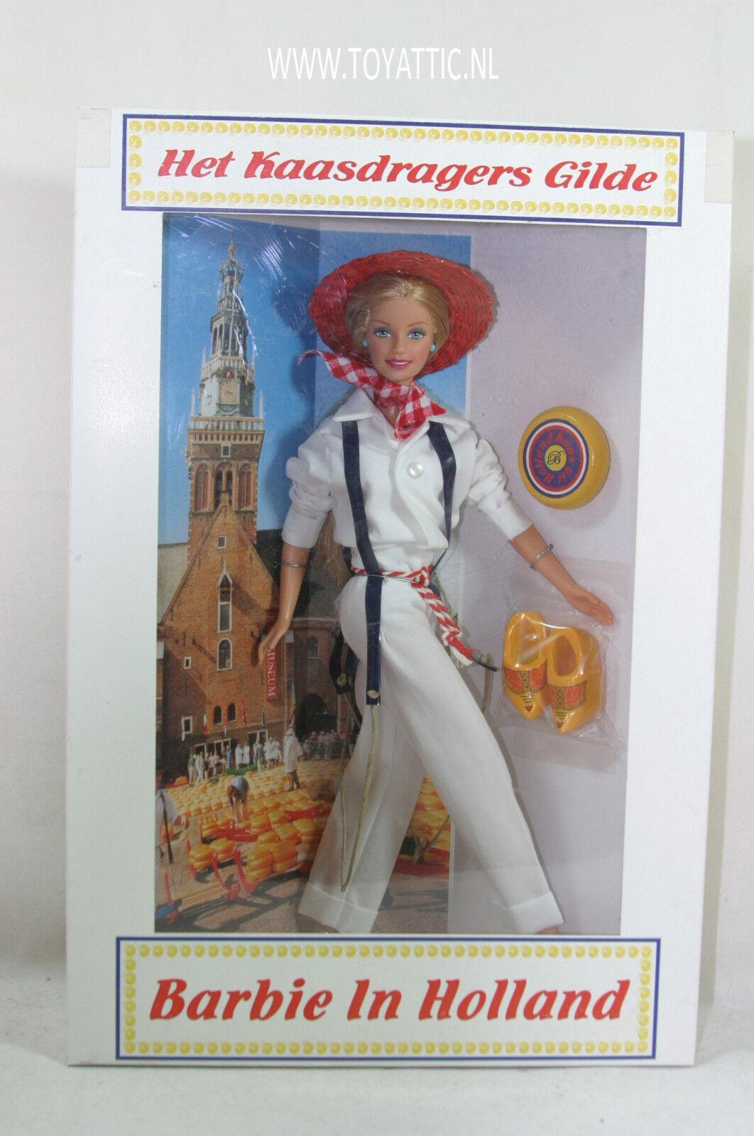 Convenio De Barbie Muñeca Barbie en Holanda desde 2002 como portador de queso holandés nunca quitado de la caja