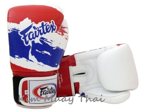 Fairtex Muay Thai MMA Boxing Gloves BGV1 Limited Ed Thai Pride Training Sparring