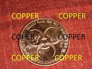 1-COPPER-Oz-Coin-Round-Walker-Walking-liberty-silver-half-dollar-Zombucks-Zombie