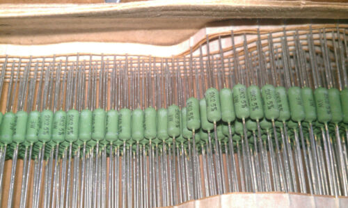 THT 25pcs 2k2 3W Phoenix Wirewound Resistor AC03 NEW 5/% tolerance