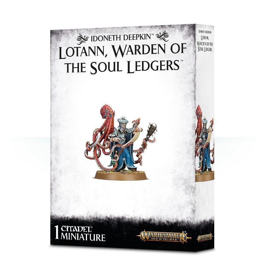 Idoneth Deepkin Lotann Be of the Soul Ledgers Games Workshop Age of Sigmar