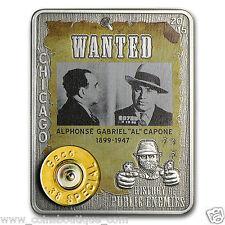 History of Public Enemies Al Capone 1oz silver embed 38 special Geco rim