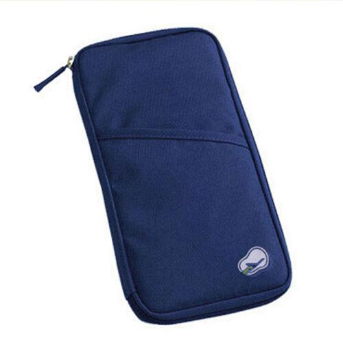 ID-Kartenhalter Handliche Reisepass Reisetasche Geldbörse Dokument Brieftasche