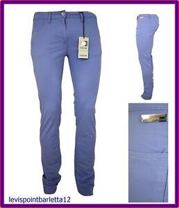 sports shoes b209e 6f210 Dettagli su GEOX pantaloni jeans da donna ragazza elasticizzati vita bassa  cotone 42 estivi