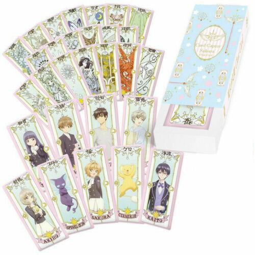 29pcs//set Cardcaptor Card Captor Sakura Clear Cards Collection Cosplay New