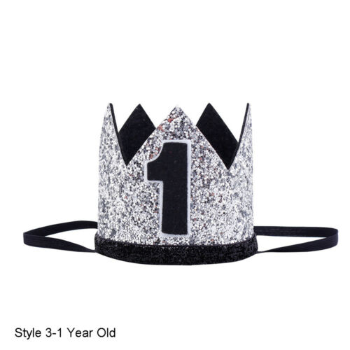 Kids Girl Baby Prince Princess Crown Headband Hair Band Headwear Birthday Party