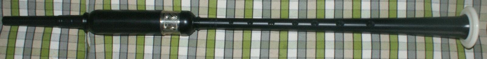 McCallum Pipe Chanter Größe Plastic Practice Chanter Zoomorphic Engraved Ferrule