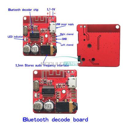 5V 3W Bluetooth Audio Music Receiver Board Decoder Digital Power Amplifier Board