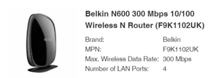 Belkin-Play-N600-Dual-Band-Wireless-ADSL2-Modem-Router-4-Port-F9J1102uk