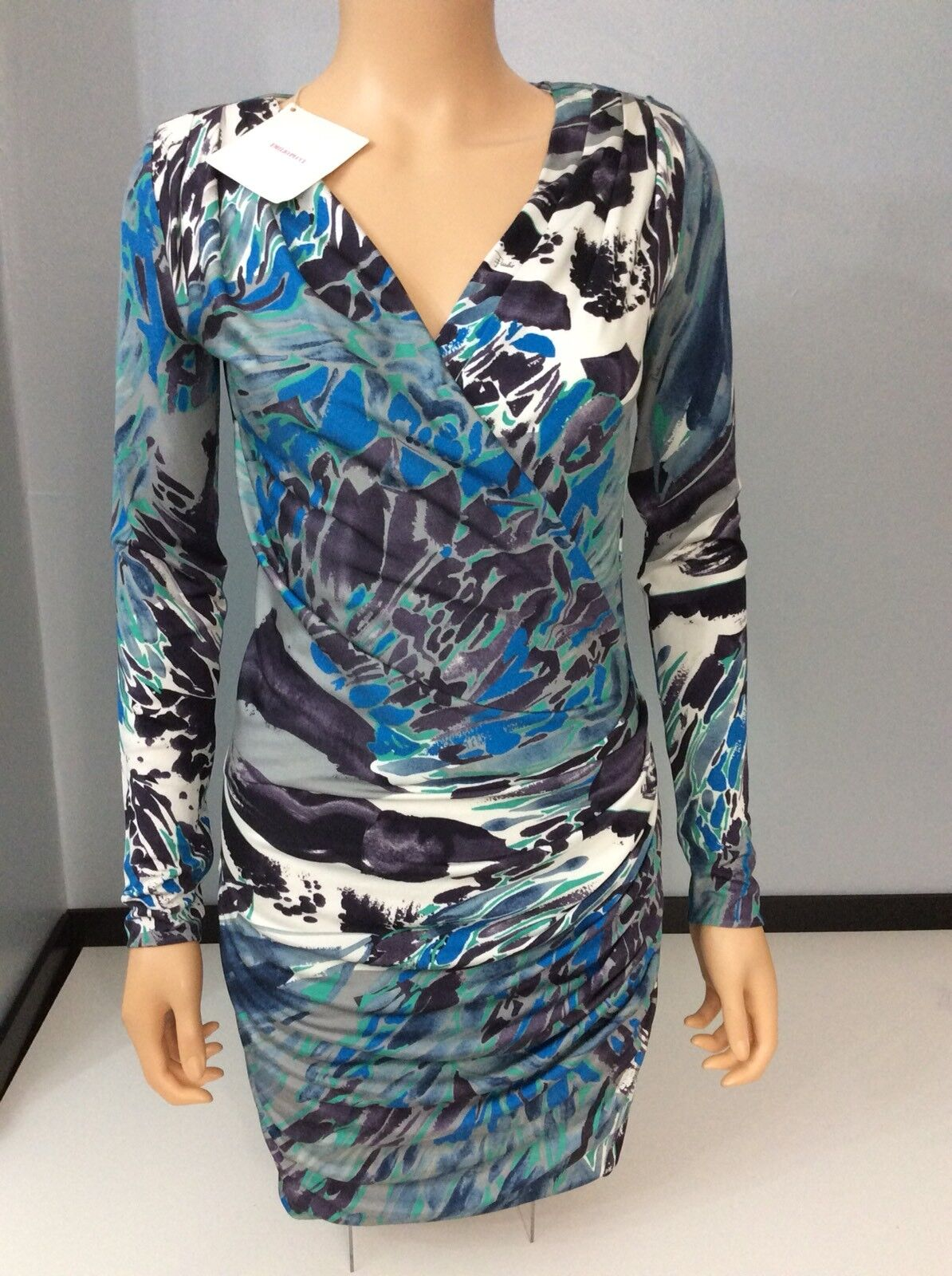 Emilio Pucci Nuevo Body con vestido BNWTs  Talla 38 Reino Unido 10 100% Seda  buen precio