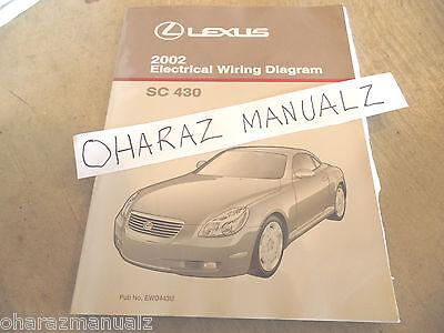 [DIAGRAM_3ER]  2002 LEXUS SC430 Electrical Wiring Diagram Service Manual OEM   eBay   Lexus Sc 430 Wiring Diagram      eBay