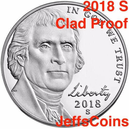 2019 S Jefferson Nickel US Mint Proof Set Early Strike Nickle 5¢ New Lowest 2018