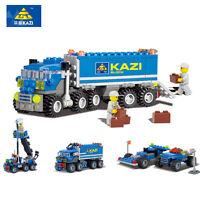 City Big Truck Building Blocks Sets Model Bricks Toys for Children