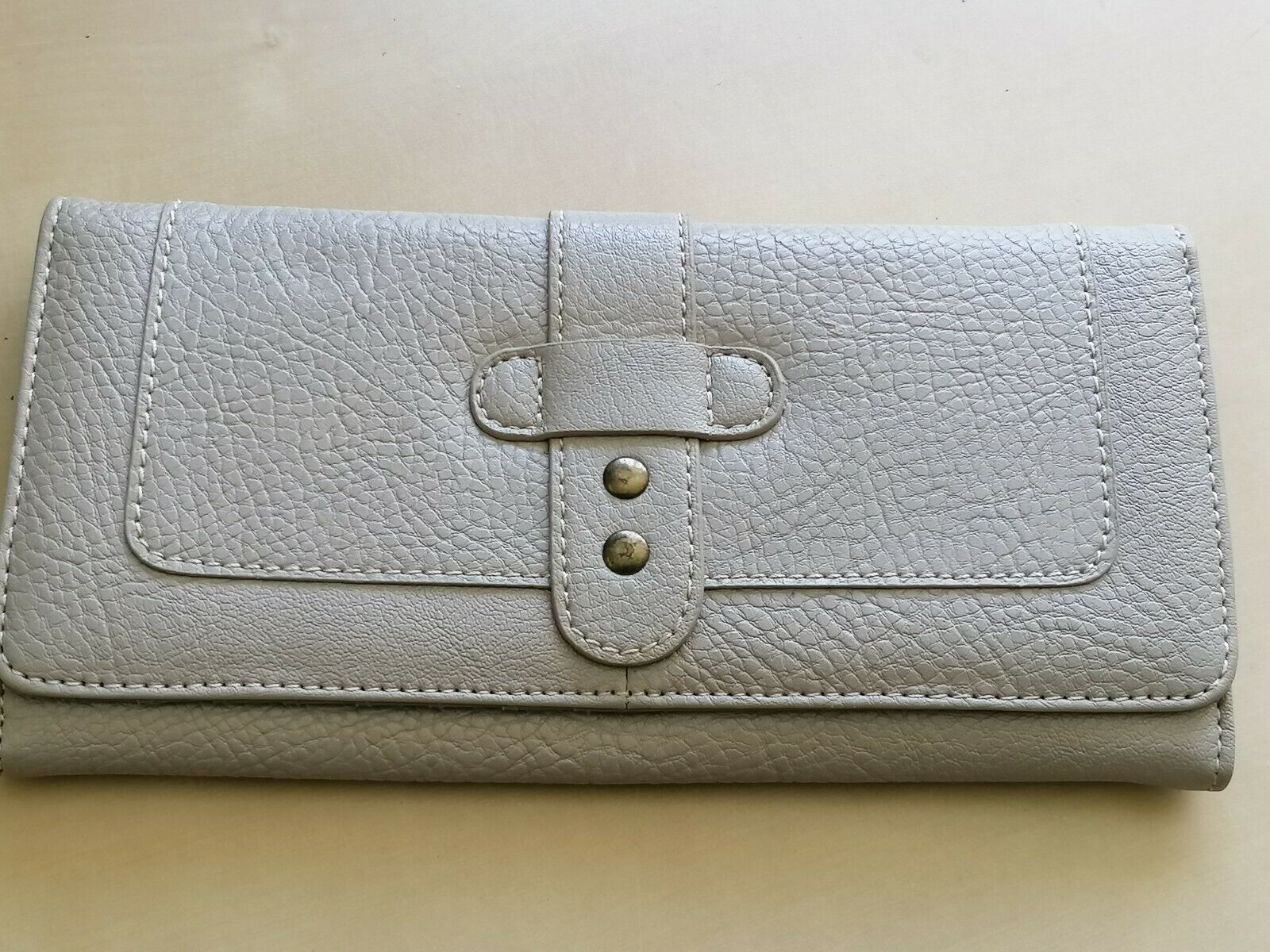Matching Faux Leather Purse with Card/Coin/Notes/Id Storage & Zipped Makeup Bag