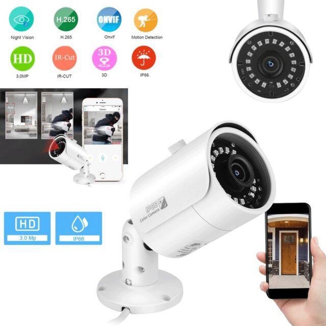 HMQC HD 2.0MP 3.6MM AHD CCTV Camera Outdoor 1080P Home Security Bullet ABS 24IR