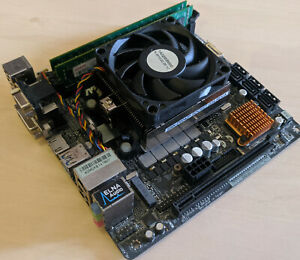 ASRock A88M-ITX/ac mit AMD A8-7600 4x3.1GHz 4GB RAM