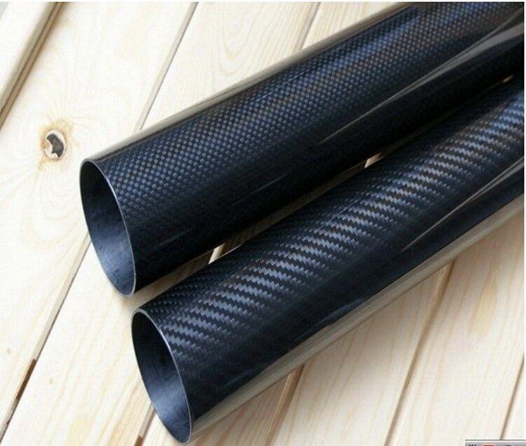 20MM OD X 14MM ID500MM  100% Roll Wrapped autobon Fiber Tube 3K Tubing 2014  più economico