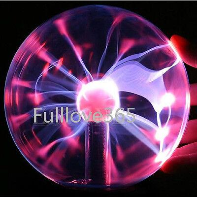 New Magic  USB Plasma Ball Sphere Light Crystal Lamp Desktop Globe Laptop F5