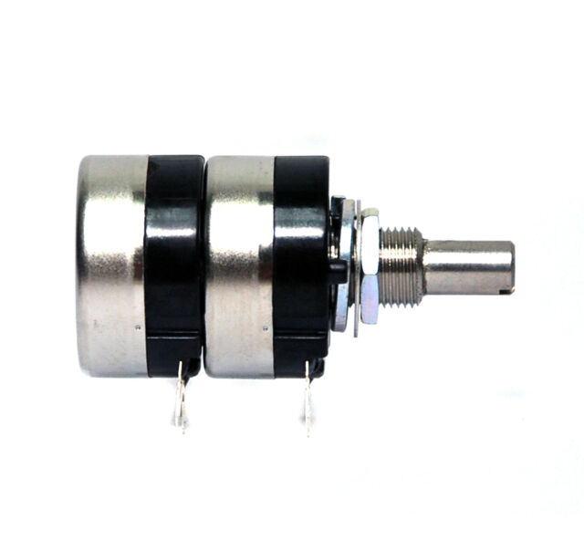 1pc COSMOS TOCOS Potentiometer RV24YG 20S 15A104 x2 A100kΩx2 A100K 24mm Japan