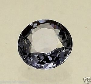 0.93 CT SPINEL BLUE Color Changing Certified Natural Brilliant Round Cut Gem